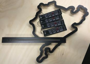 Key Chain - Eat Sleep Ring Repeat