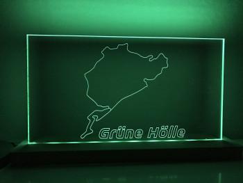 "Lamp Nürburgring full circuit ""Grüne Hölle"""