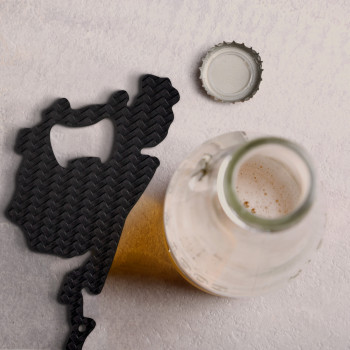Carbon bottle opener Nurburgring