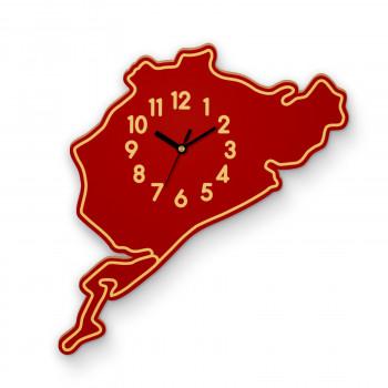 Wall Clock Nurburgring complete track