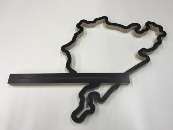 Key Holder with Race Track