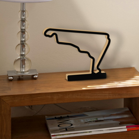 Autodromo Hermanos Rodriguez GP Circuit since 2015 with foot