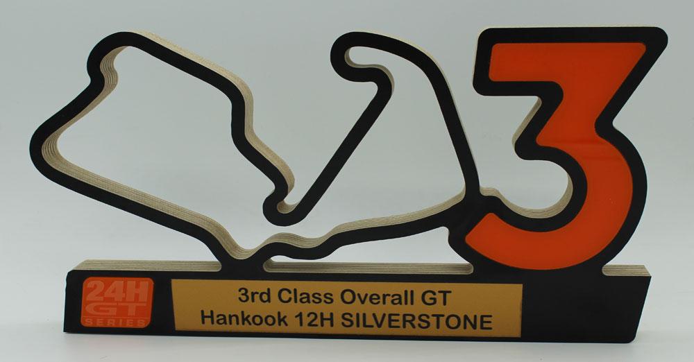 3rd in Class 12h Silvestone