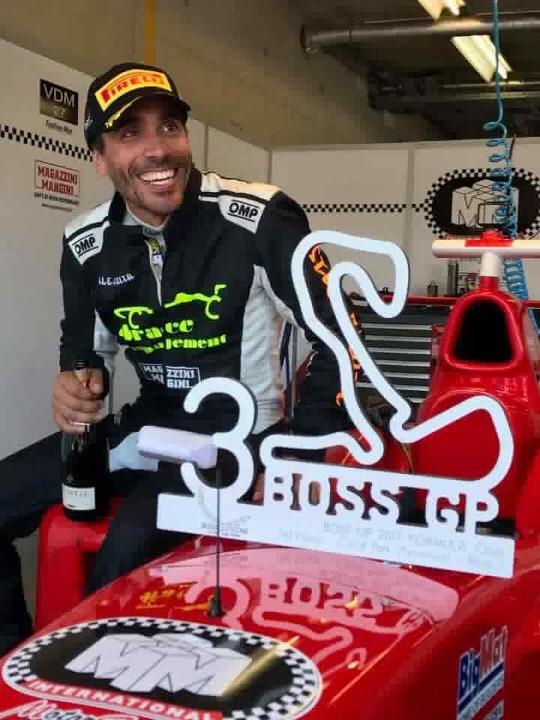 Pokale Boss GP Platz 3