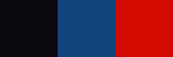 Farben der Racetrackart Konturen