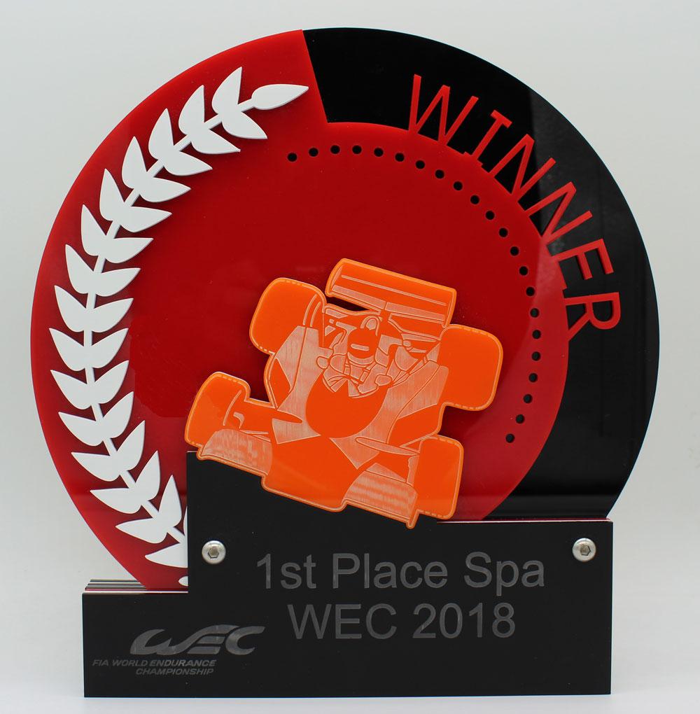 WEC Overall Acryl